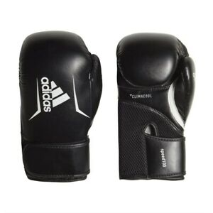 adidas Mens Climacool Speed 100 Boxing Gloves Black