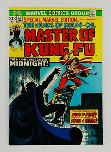 Special Marvel Edition #16 Master Of Kung Fu Second Shang-Chi Appearance 2nd App