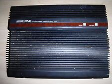 Alpine 3566 Amplifier 6/5/4/3 Channel Amp,made in Japan old school vtg RARE