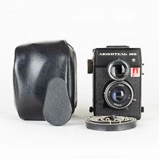 Lubitel 166 Medium Format Film Camera with Lens T-22 TLR 6x6 Case LOMO USSR