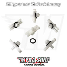 BARRE Decorative parentesi con Anello klips AUDI VW Golf Jetta Golf Passat t3 #neu # x20