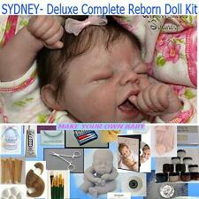 DELUXE Reborn Sydney doll  kit for Beginning artist, Complete Starter kit, DVD,