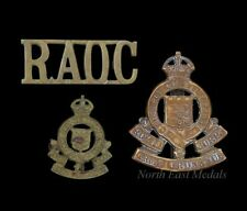 WW2 Royal Army Ordnance Corps Cap, Collar and Shoulder Title Badge