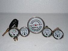 Allis Chalmers  Oil Pressure Fuel Temp Amp Tach Gauge Set for Gas D14 D15 D17