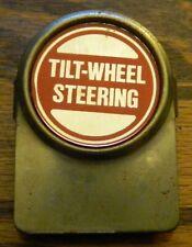 Tilt - Wheel Steering Vintage Paper Holder / Clip / Magnet on Back