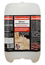 Mauerimprägnierung 5 Liter | Beton Sandstein Granit Naturstein Imprägnierung