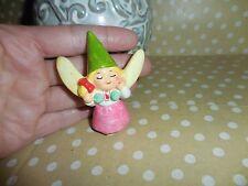 Vintage * Unieboek Gnome Elf Pixie Ceramic Ornament 1979 Korea