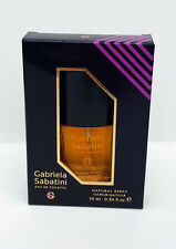 SALE ! NEW & BOXED VINTAGE GABRIELA SABATINI CLASSIC 3 X 10 ML EDT SPRAY SALE