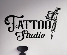 Tattoo Parlor Wall Decal Studio Salon Vinyl Sticker Window Logo Emblem 72(nse)