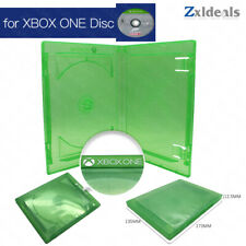Replacement Case for XBOX ONE Game Single Disc Spare Green Box 1 CD With Logo