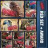 BURNS-10 CARD RED SET+FUZZBALL AWARD-TOPPS STAR WARS CARD TRADER DIGITAL