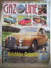 GAZOLINE n°135 - HOTCHKISS-GREGOIRE SIMCA Aronde MIDAS Gold FIAT 1100