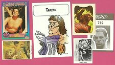 Tarzan Johnny Weissmuller FAB Card Collection