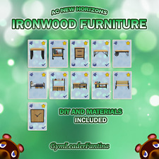eBay on Ironwood Furniture Animal Crossing  id=40444