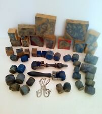Lot 19 Buffer Haberdashery 24 Rollers 2 Festonneur For Embroidery Antique