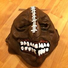 Mens Adult Football Player Scary Zombie Sports Mask L XL Halloween Accessory NEW