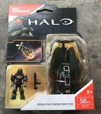 Mega Construx HALO #FDY37 Operation Throne Drop Pod new sealed