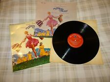 THE SOUND OF MUSIC - ORIGINAL SOUNDTRACK VINYL LP + SONGBOOK
