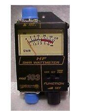 Workman 103 SWR / Power 150 Watt Meter CB Ham Radio 25-50 MHz