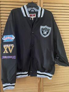 Raiders Varsity Jacket-Vintage Super Bowl Champs