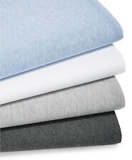 Calvin Klein Home Modern Cotton Harrison QUEEN Flat Sheet Periwinkle Blue