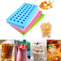 40 Cavity Mini Silicone Sphere Ice Cube Tray Mould Cube Round Ball DIY Bar Tools