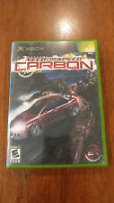 Need for Speed: Carbon (Microsoft Xbox, 2006) VERY GOOD COMPLETE! MAIL TOMORROW