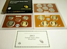 The Rare 2012 Us Mint Proof Set with Box/Coa - Us Coins