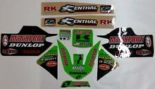 Kawasaki Canidae MotoSport Race Team Graphics Stickers Decals Assorted 10-Pack