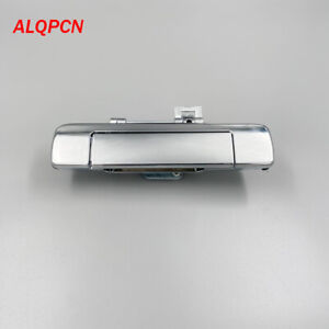 Trunk handle tailgate handle for Isuzu pickup D-max 2012 2013 2014 2015 chrome