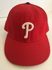 Philadelphia Phillies Red New Era 59Fifty SIZE 7 1/2 Fitted Cap