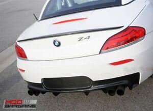Carbon Fiber BMW Z4 Roadster E89 Boot Lip Spoiler Wing 2009-16 UK Seller