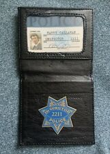 Dirty Harry Police ID Badge Wallet Harry Callahan Inspector 2211 Clint Eastwood