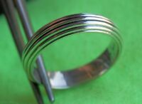 DAVID YURMAN Men's Royal Cord Band Ring Sterling Silver Size 8.75 $299