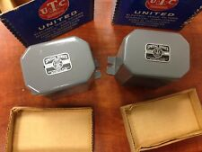 Utc electric transformer filter inductor choke S-28 pair #5 Nos New In Box