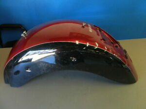 #* 09 Suzuki Boulevard C109 109 Rear Fender Red Black Back Tire Hugger ** 2009