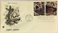 10 USPS PCS Alpine Tundra 2007 41c Stamp FDC Cover 4198D First Day Issue NEW