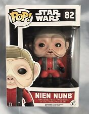 POP! Star Wars: The Force Awakens Nien Nunb - Vinyl Bobble-Head Ep VII #82 New
