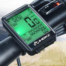 INBIKE Waterproof Digital Wireless Cycling Bike Bicycles Computer Odometer Y