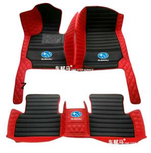 For Subaru-BRZ-Forester-Impreza-Outback-WRX-XV Car Floor Mats