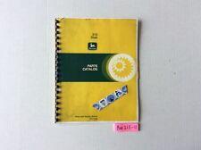 John Deere 310 Disk Parts Catalog Pc1386