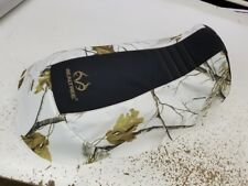 CAN-AM CAN AM RENEGADE 800 1000 REALTREE seat cover AP snow camo brn/stitch/brn