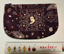 Made in Japan Handmade Pouch Purse for CAT Lover