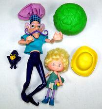1980's Herself the Elf Doll & Purple Pieman Berry Bird Strawberry Shortcake Toys