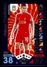 Match Attax 2016-2017 EXTRA Philippe Coutinho Liverpool Update Card No. UC14