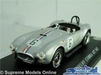 SHELBY COBRA 427 S/C MODEL CAR 1:43 SCALE IXO 1966 RACING + DISPLAY CASE K8