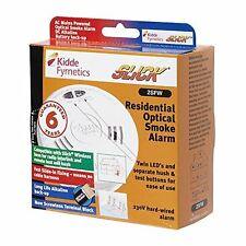 Kidde 2SFW Optical Smoke Fire Alarm Detector Mains Hard Wired Battery Back Up UK