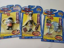 Adventures of Rocky and Bullwinkle Collectible Micro Bend-ems Lot of 3 New fresp