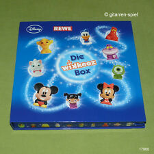Komplett Satz Rewe Disney WIKKEEZ –BOX je 30 Figuren + Sticker ASS ©2014 1A TOP!