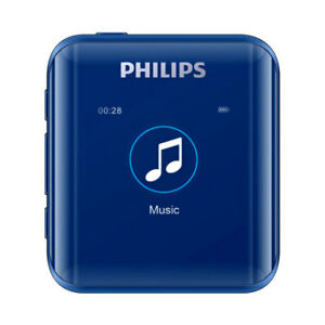 Philips MP3 Player SA2816 DSD HIFI Digital Media  with Recorder Function  blue